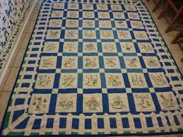 Quilt In Antiques Ebay Rainbow Quilt Quilt Border Embroidered Quilts