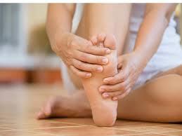 feet can indicate thyroid