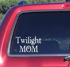 Twilight Mom Book Sticker Decal Car Truck Window Laptop Funny Stickers Car Window Stickers Bumper Stickers