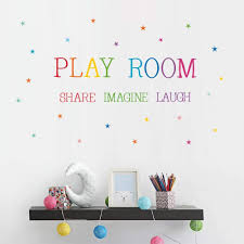 Playroom Share Imagine Laugh Wall Decal Buy Online In El Salvador At Desertcart