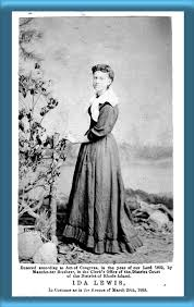 Lime Rock Lighthouse Photo 2 - Photo of Ida Lewis - 1869