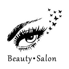 Feira De Vaidade Beauty Salon Wall Decal Eyes Wall Stickers Lashes Decals Window Decor Sticker Walmart Com Walmart Com