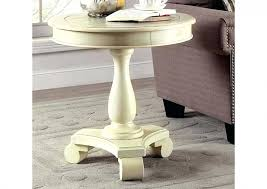 small lane coffee table round brass