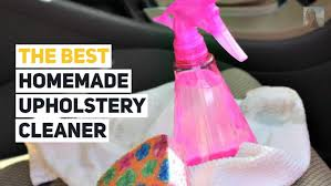 homemade upholstery cleaner with simple