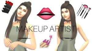 the sims 4 cas makeup artist you