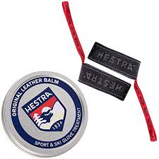hestra leather balm and handcuffs