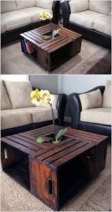 wooden crate furniture ideas
