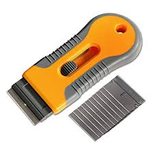 Ehdis Car Sticker Remover Razor Blade Spatula Scraper Window Tint Tools Utility Knife For Window Glass Film Glue Removing 10pcs Replaceable Razor Blades Discountwind