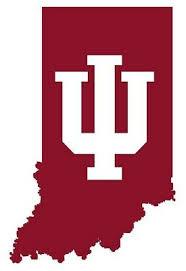 Indiana University Hoosiers Round Logo 6 Vinyl Decal Bumper Sticker Ncaa College Ncaa Fan Apparel Souvenirs Sports Mem Cards Fan Shop Fan Apparel Souvenirs