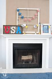 farmhouse fireplace reveal