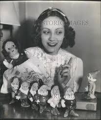 1938 Press Photo Adriana Mitchell Caselotti American Singer | #253492677