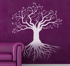 Deep Roots Tree Wall Sticker Tenstickers
