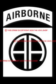 82nd Airborne All American Army Military Vinyl Decal Sticker Ebay