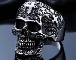snless steel skull jewelry