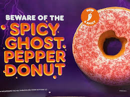 New Spicy Ghost Pepper Donut ...