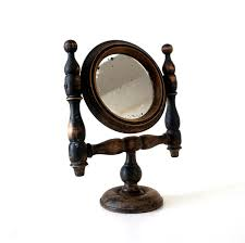 antique victorian shaving mirror 1800 s