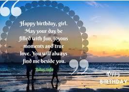 top impressive birthday wishes for girlfriend info