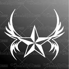 Shop Now For Nautical Star Graphic Truck And Car Stickers
