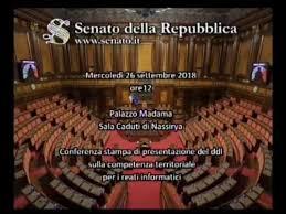 La diretta streaming del canale satellitare del Senato della ...