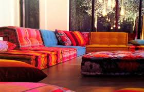 low teakwood living room sofa set