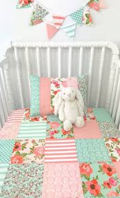 baby blanket baby quilt patchwork