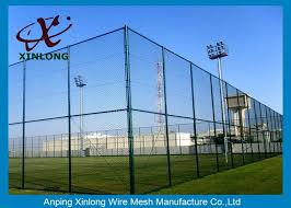 3 5mm Pvc Coated Chain Link Fence Weave Style Oem Odm Available