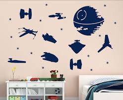 Movie Star Wars Wall Decal Jedi Wall Waffle Children S Room Star Wars Star Wars Ship Decal Darth Vader Sticker Dy22 Buy At The Price Of 8 48 In Aliexpress Com Imall Com