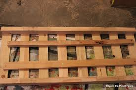 Beyond The Picket Fence Patchwork Pallet