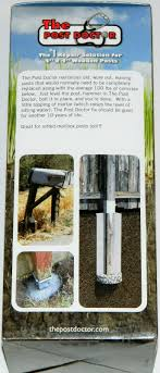 The Post Doctor Repair Solution For 4 X 4 Wooden Posts Pd10 For Sale