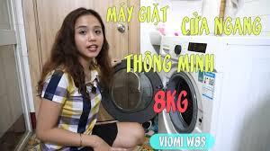 Máy giặt cửa ngang thông minh 8kg Viomi W8S - YouTube