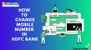 change mobile number in hdfc bank