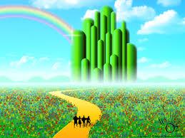 emerald city wallpaper the wizard of oz