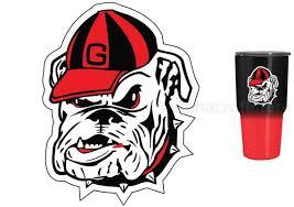Uga Georgia Bulldogs 3 Premium Vinyl Decal For Tumbler Etsy