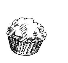 Mewarna08 Kleurplaat Tekening Cupcake Ingekleurd