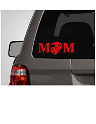 Marine Mom Bumper Sticker Edwin Group Of Companies Marine Mom Car Decal Size 2 H 5 6