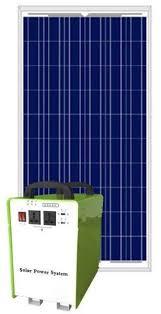 Portable Solar Power System 90w 12v 500w Inverter