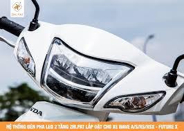 ZHI.PAT - Đèn pha LED 2 tầng Xe Máy WAVE A/S/RS/RSX & FUTURE X (125CC)