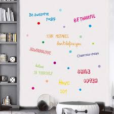 Amazon Com Iarttop Inspirational Quotes Wall Decal Motivational Phrases Sticker Classroom Decoration Positive Attitude Sayings For Window Cling Bedroom Decor 3 Sheet Multicolor Decals Arts Crafts Sewing