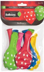 Disfracesmimo Bolsa De 8 Globos Andaluces 95 Cm De Colores Con