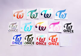 Twice Kpop K Pop Vinyl Window Decal Laptop Stickers Die Cut Home Garden Children S Bedroom Boy Decor Decals Stickers Vinyl Art