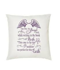 baby cushion memorial gift ping