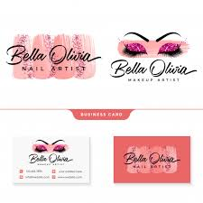 beauty makeup feminine logo collections