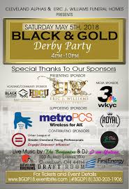 gold derby party scholarship fundraiser