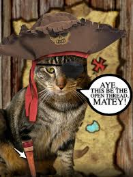 talk like a pirate in the open thread