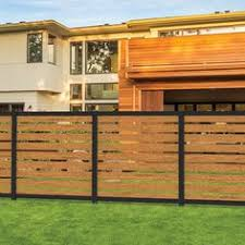 10 Artisan Mixed Material Fence Ideas Privacy Panels Fence Metal Fence Panels