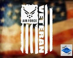 Air Force Car Decal Etsy