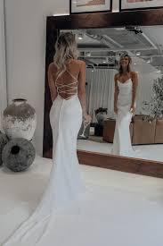honey silk gown silk wedding dress