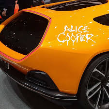 For Alice Cooper Vinyl Decal Window Or Bumper Sticker Rock Roll Band Fashion Personality Car Stickers Car Stickers Aliexpress