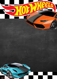 Free Hot Wheels Lamborghini Invitation Templates Festa Hot
