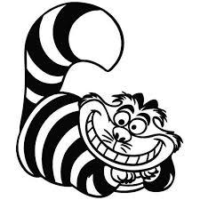 Cheshire Cat Wonderland Cartoon Decal Buy Online In Cayman Islands At Desertcart